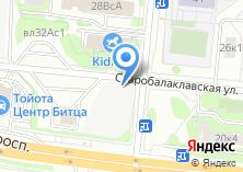 Компания «Ритмик» на карте
