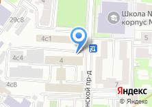 Компания «Контрфорс» на карте