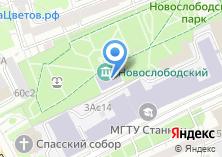 Компания «Парк Новослободский» на карте
