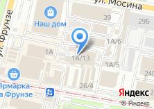 Компания «Магазин крепежных изделий и клея» на карте