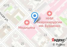 Компания «Шерна» на карте