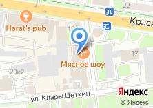Компания «МоскомПриватБанк» на карте