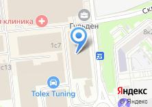 Компания «Родстер Автоплюс» на карте