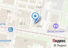 Компания «Фора мебель» на карте