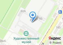 Компания «СпецТех» на карте