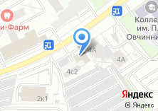 Компания «Адвокат Журавлёв С.В.» на карте