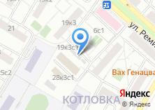 Компания «Автостоянка №44а» на карте