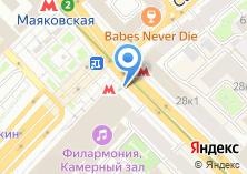 Компания «Цветочный магазин на Тверской» на карте