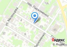 Компания «Цельсий» на карте