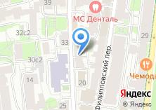 Компания «Международная клиника гемостаза» на карте