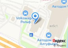 Компания «Форд Центр Север» на карте