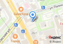 Компания «Мясной магазин на Новослободской» на карте