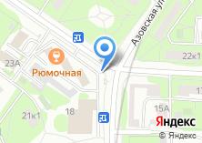 Компания «Магазин цветов на Болотниковской» на карте