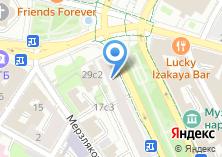 Компания «Хлеб & Co» на карте