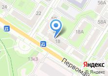 Компания «Ортопед» на карте