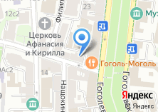 Компания «Акценты» на карте