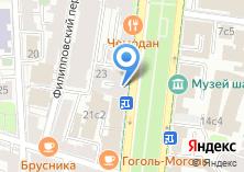 Компания «Багетная мастерская на Гоголевском бульваре» на карте