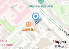 Компания «Янус» на карте