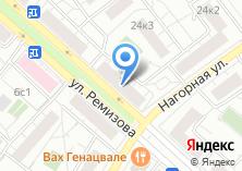 Компания «Управление социальной защиты населения района Котловка» на карте