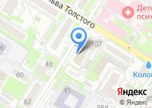 Компания «Отделение Пенсионного фонда РФ по Тульской области» на карте