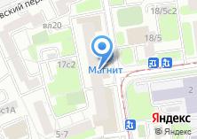 Компания «Московская парикмахерская» на карте