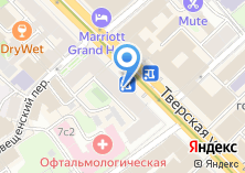 Компания «Цветочный магазин в Мамоновском переулке» на карте