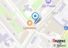 Компания «Почтовое отделение №123104» на карте