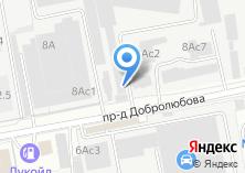 Компания «ИНОКСРУС» на карте