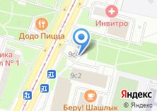 Компания «Инженерная служба района Чертаново Северное» на карте