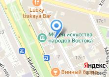 Компания «Государственный музей искусства народов Востока» на карте