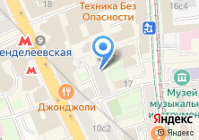 Компания «Магазин одежды» на карте