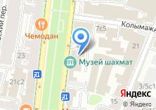 Компания «Музей шахмат» на карте