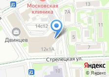 Компания «Двинцев» на карте