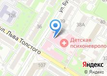 Компания «Тульская областная детская психоневрологическая больница» на карте