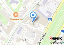 Компания «Храм святого апостола и евангелиста Иоанна Богослова на Бронной» на карте