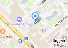 Компания «Тройка-д банк» на карте