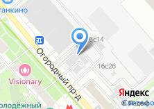 Компания «MirrorSky» на карте