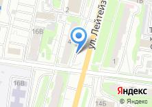 Компания «Агентство ритуальных услуг на ул. Лейтейзена» на карте