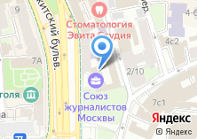 Компания «Московский институт телевидения и радиовещания Останкино» на карте