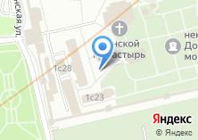 Компания «Водосвятная часовня Донского монастыря» на карте