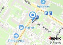Компания «Строящееся административное здание по ул. Николая Руднева» на карте