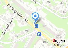 Компания «Магазин продуктов в Городском переулке» на карте