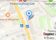 Компания «Пенсионный фонд Банка Москвы» на карте