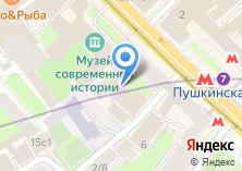 Компания «Департамент торговли и услуг г. Москвы» на карте