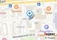 Компания «Технолига» на карте