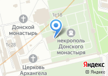 Компания «Храм Донской иконы Божией Матери» на карте