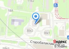 Компания «Строящийся жилой дом по ул. Балаклавский проспект» на карте