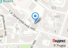Компания «Зачатьевский-6» на карте