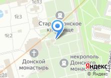 Компания «Храм Святого преподобного Иоанна Лествичника в Донском монастыре» на карте
