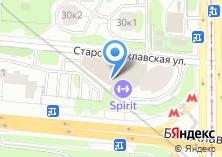 Компания «Строящееся административное здание по ул. Балаклавский проспект» на карте